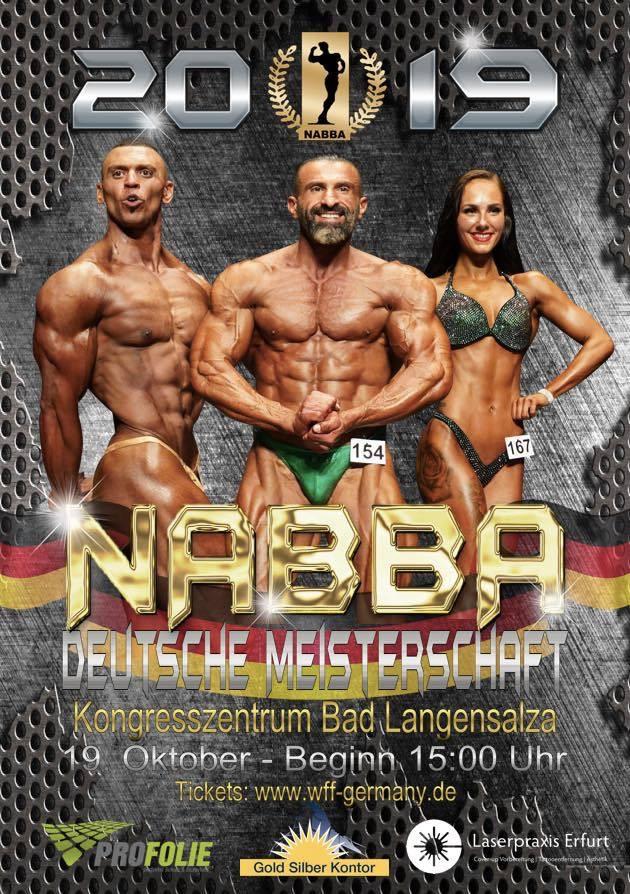 Deutsche Meisterschaft NABBA 2019 Bodybuilding