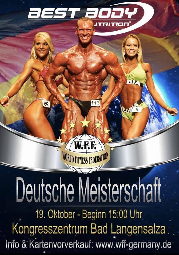 Deutsche Meisterschaft WFF NABBA 2019 Bodybuilding