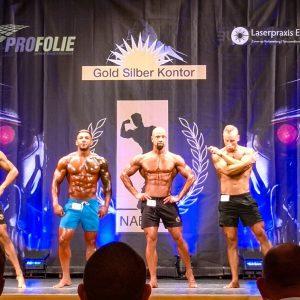 John Bodyfit Wettkampf NABBA 2019 Sport Short Class