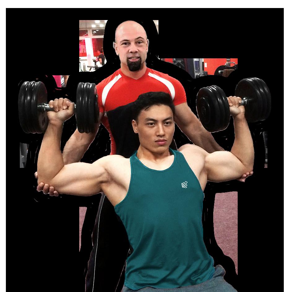 Personal Training Lunpo und John Bodyfit Petrol