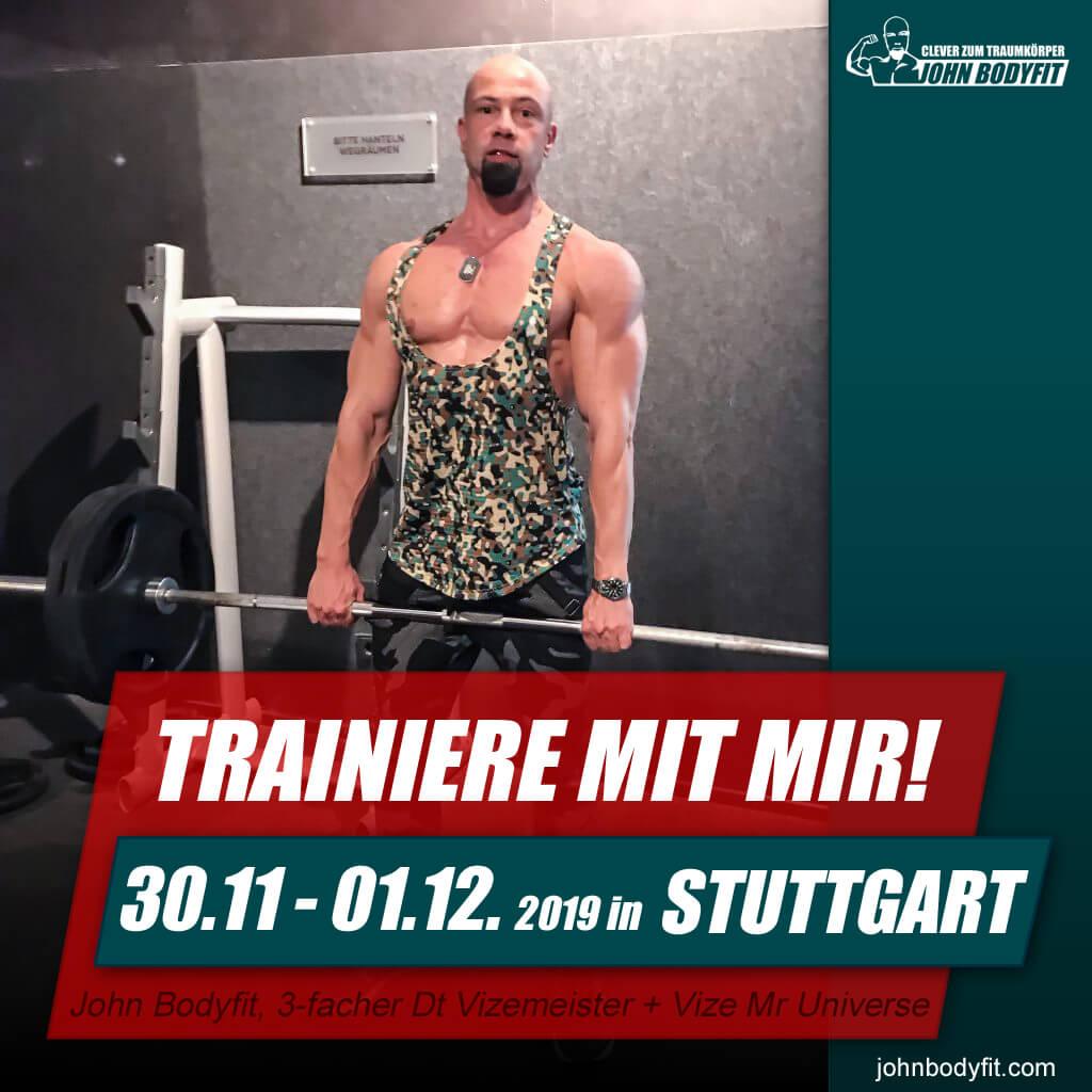 Personal Training Wochenende – Stuttgart – November 2019